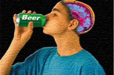 brain alcohol
