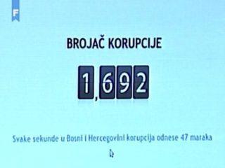 brojac korupciije ftv