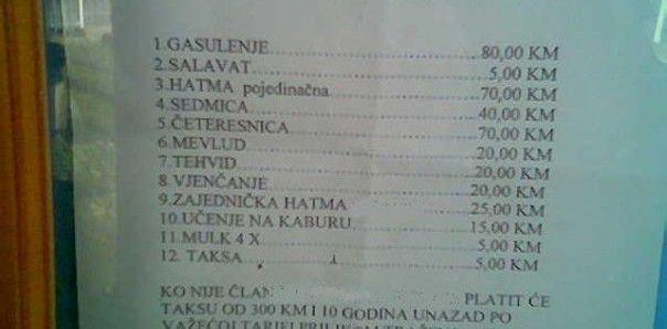 tarifnik