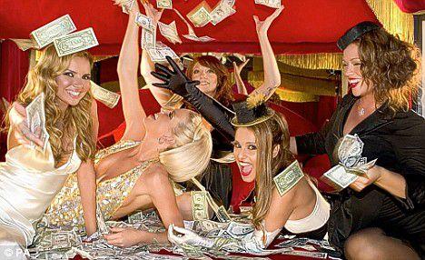 money djevojke