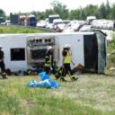 Autobus iz Srbije se prevrnuo u Njemačkoj, 19 povrijeđenih