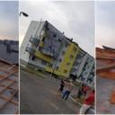 Jak vjetar u Špionici digao dio limenog krova stambene zgrade