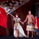 Japanski car Naruhito službeno otvorio Olipijske igre, show ukrao nauljeni i polugoli Pita Taufatofua