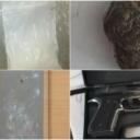 Pretresi na devet lokacija u TK: Pronađeno oružje, droga i drugi predmeti