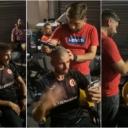 Slavljenička atmosfera: U Mostaru počelo masovno besplatno šišanje