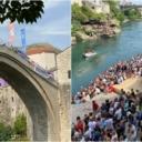 U Mostaru počeli 455. tradicionalni skokovi sa Starog mosta