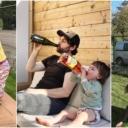 """Na pitanje šta rade, tata mami šalje fotografije svoje djece u """"opasnosti"""""""