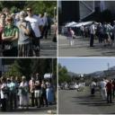 U Sarajevu počela masovna vakcinacija, dugi redovi građana