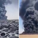 Zapalilo se najveće groblje guma na svijetu, stanovnici ne mogu normalno disati: 'Katastrofa!'