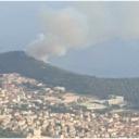Požar u Makarskoj: Gori predio Kraljev gaj, razmjeri vatre nepoznati