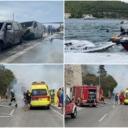 Kod Dubrovnika u požaru izgorjelo sedam plovila i dva vozila