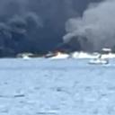Požar kod Dubrovnika: Crni dim prekrio Mirinovo, brodovi bježe s tog područja