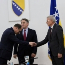 Schmidt stigao u Predsjedništvo BiH, Dodik se nije pojavio