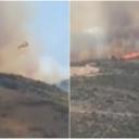 Bukti požar kod Trogira, na terenu preko 150 vatrogasaca