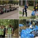 Veliki broj mladih ljudi širom Tuzle čistio ilegalne deponije otpada
