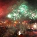 Spektakularan vatromet u Sarajevu povodom 100. rođendana Željezničara