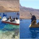 Fotografije postale viralne: Talibani plovili jezerom na pedalinama u obliku labudova