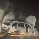 Navijači presreli automobil sudije Topalovića i zapalili ga bakljama nakon utakmice u Mostaru