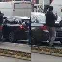 Pogledajte tuču vozača na semaforu u Novom Sadu