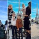 Jesen u Parizu: Amra Džeko s djecom uživa u gradu ljubavi