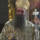 Patrijarh Porfirije služio liturgiju u Sabornoj crkvi u Sarajevu