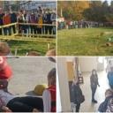 Tuzla: Održana edukativno-pokazna vježba evakuacije đaka usljed zemljotresa
