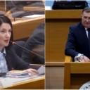 Jelena Trivić upitala Milorada Dodika: Gdje si bio u ratu? Jesi ti general ili si profiter?